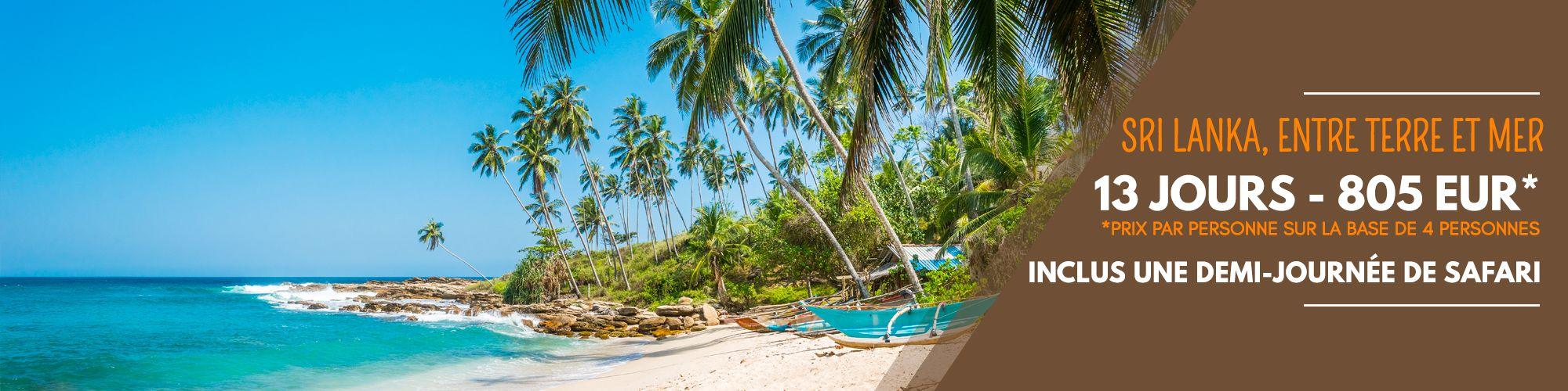 Sri Lanka, entre terre et mer
