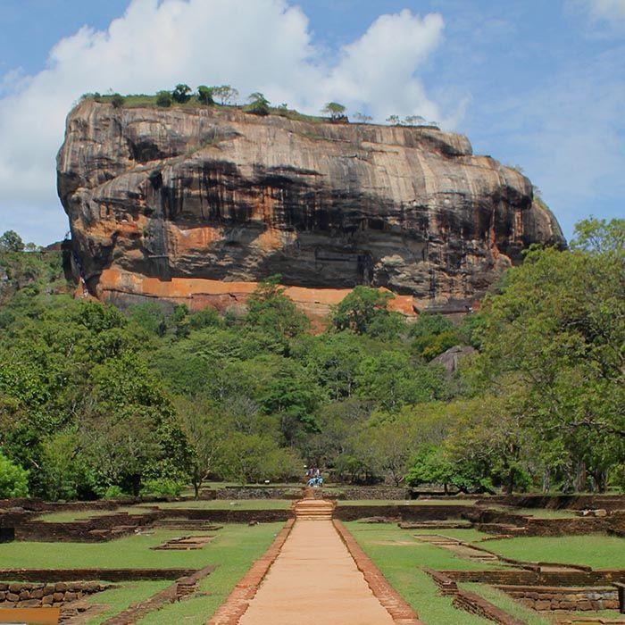 Sri Lanka, Triangle Culture, Rôcher du Lion
