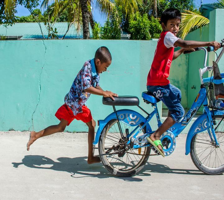 Enfants, Maldives
