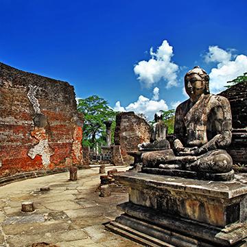 Sites touristiques au Sri Lanka