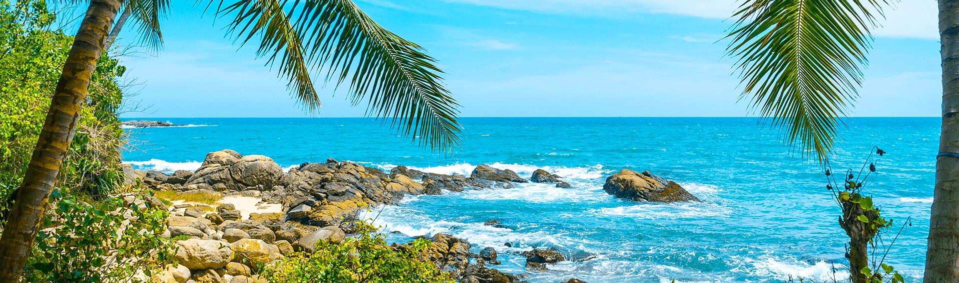 Sri Lanka, océan Indien, plage