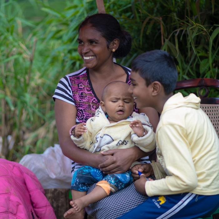 Sri Lanka, écolières