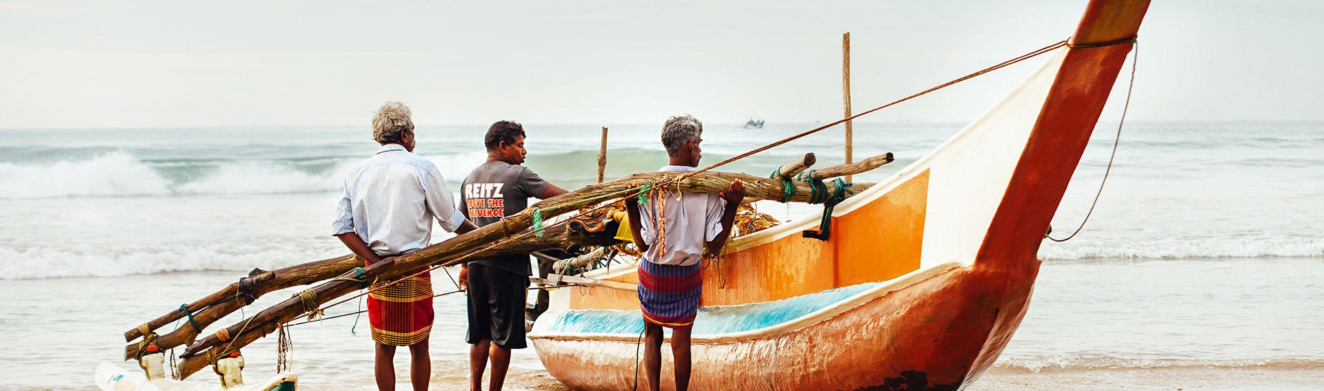 Sri Lanka, pêcheurs