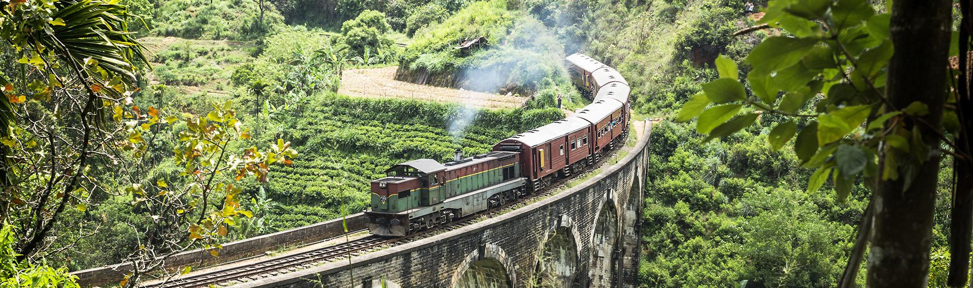 Sri Lanka, Ella, Pont des neuf arches