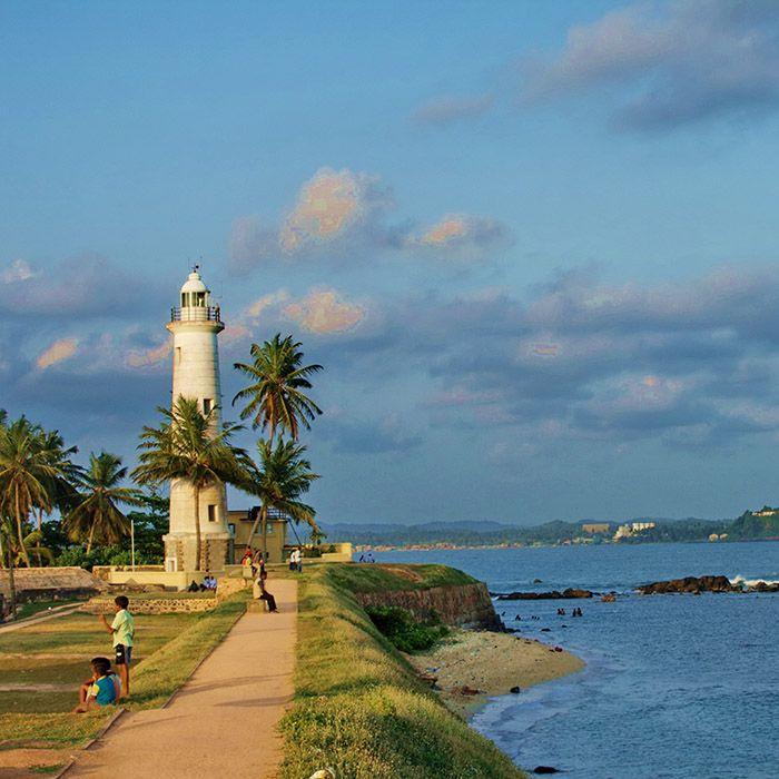 Sri Lanka, côte sud, Galle