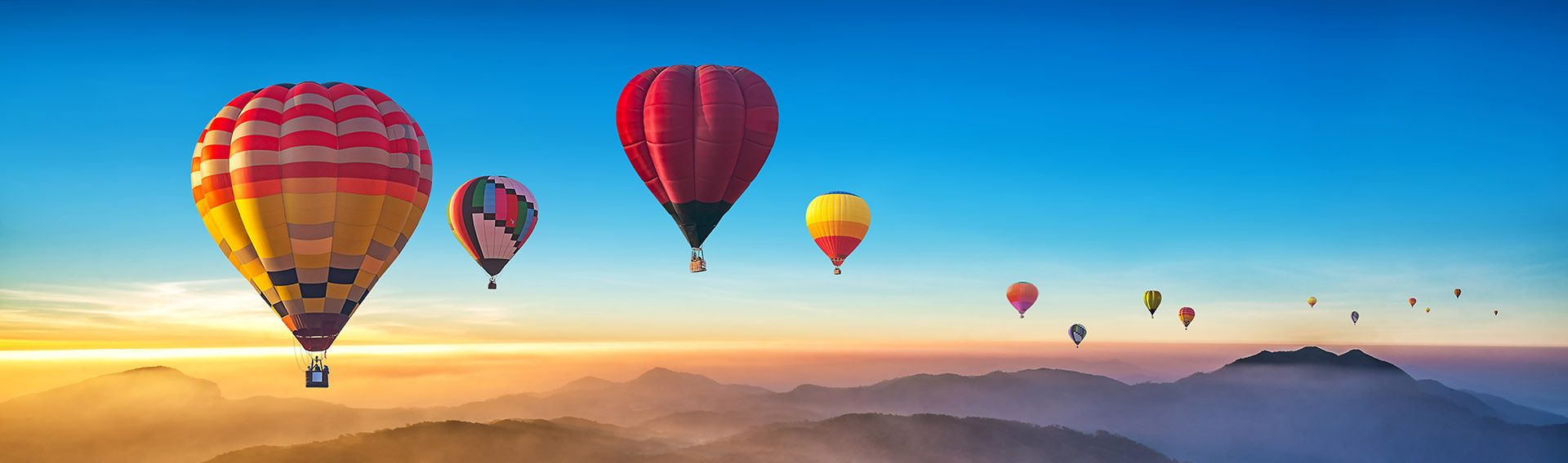 Sri Lanka, vol en montgolfière