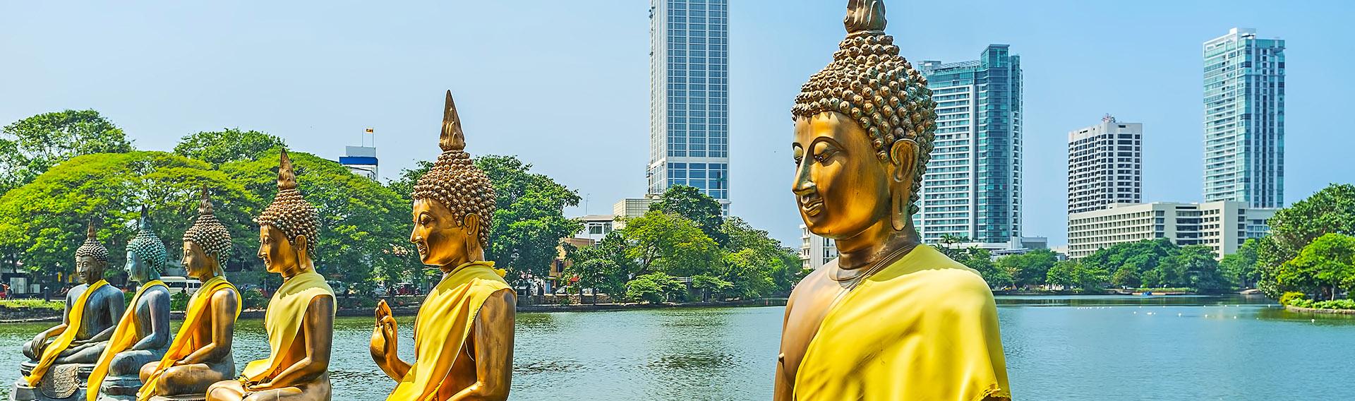 Sri Lanka, visite de la ville de Colombo