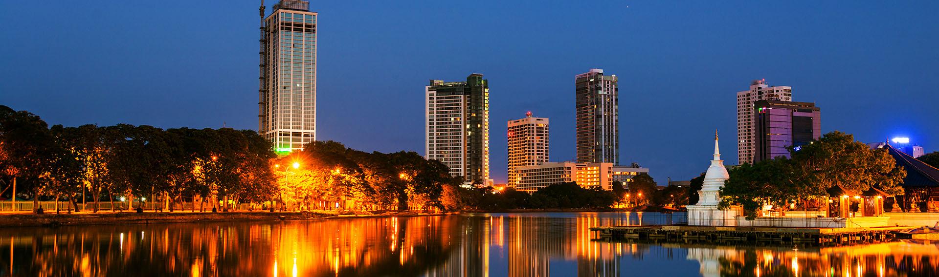 Sri Lanka, côte ouest, Colombo