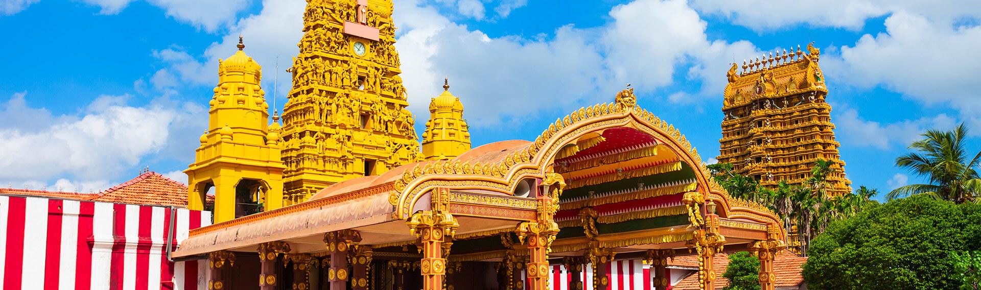 Sri Lanka, Nord, Jaffna, temple hindou