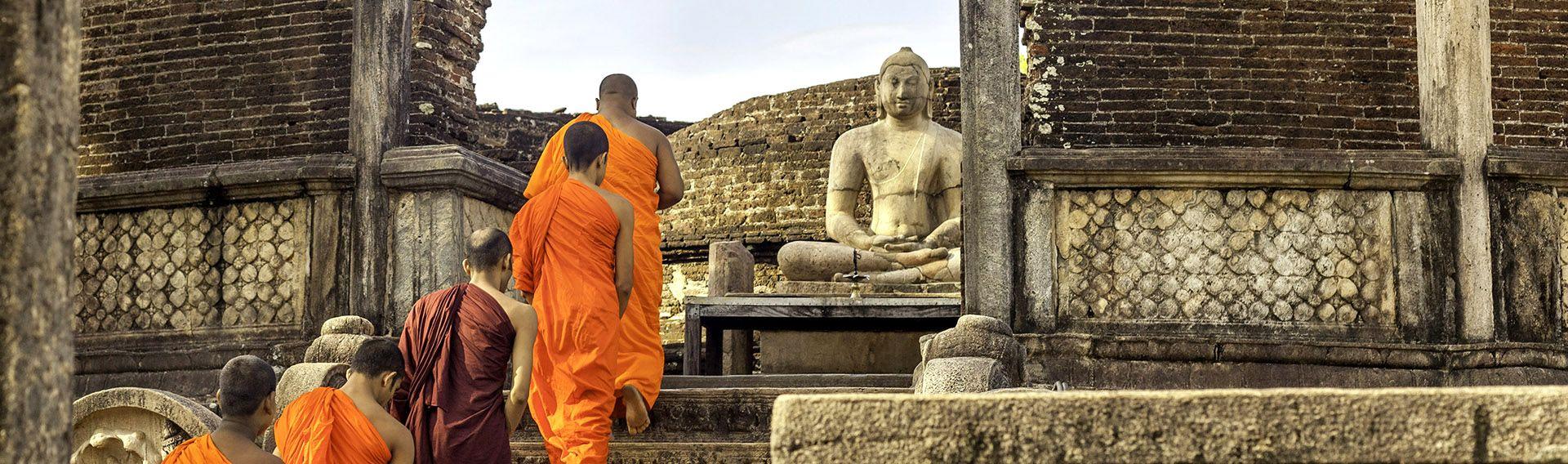 Sri Lanka, Triangle Culturel, cité historique de Polonnaruwa