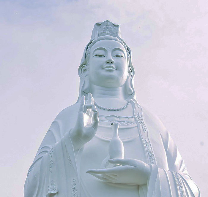 Vietnam, Son Tra, Bouddha