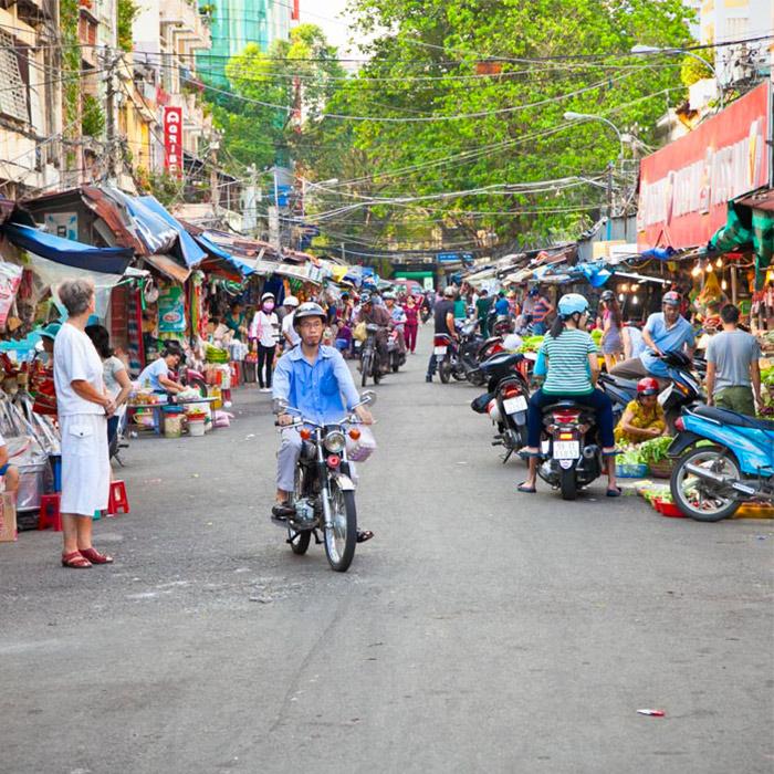 Vietnam, Ho Chi Minh, Place du marché