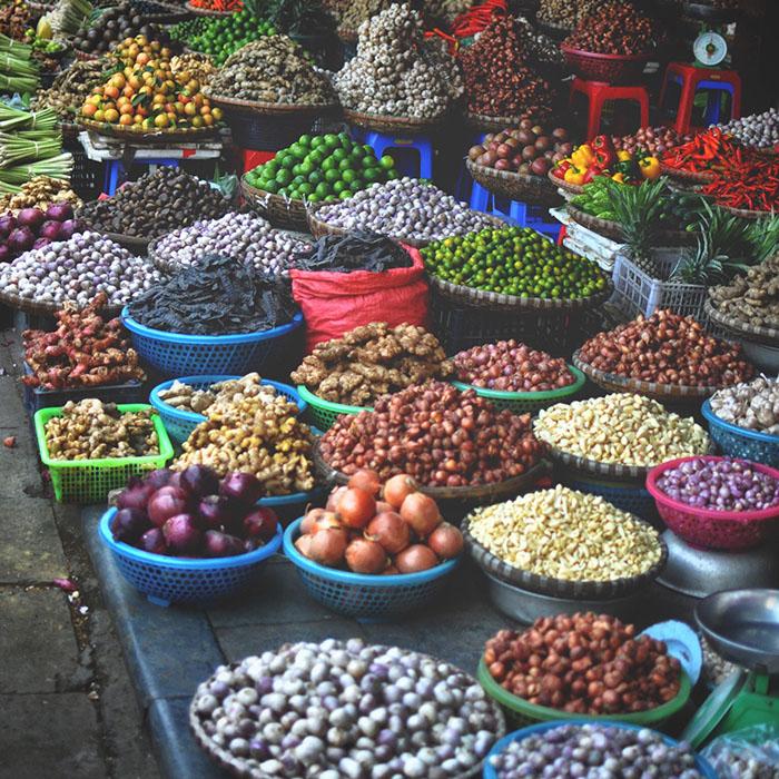 Vietnam, Hanoï, Épices
