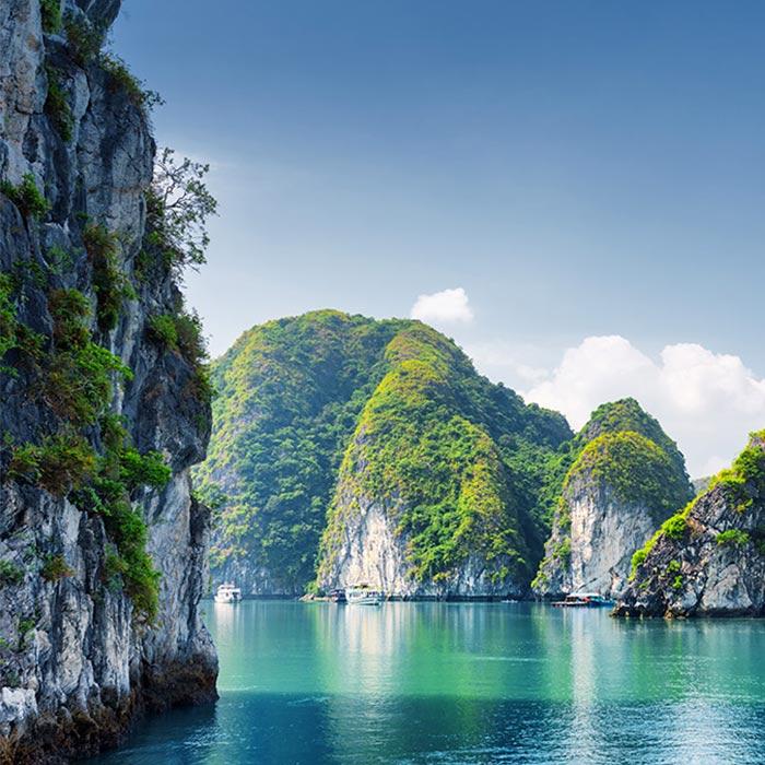 Vietnam, Baie Halong