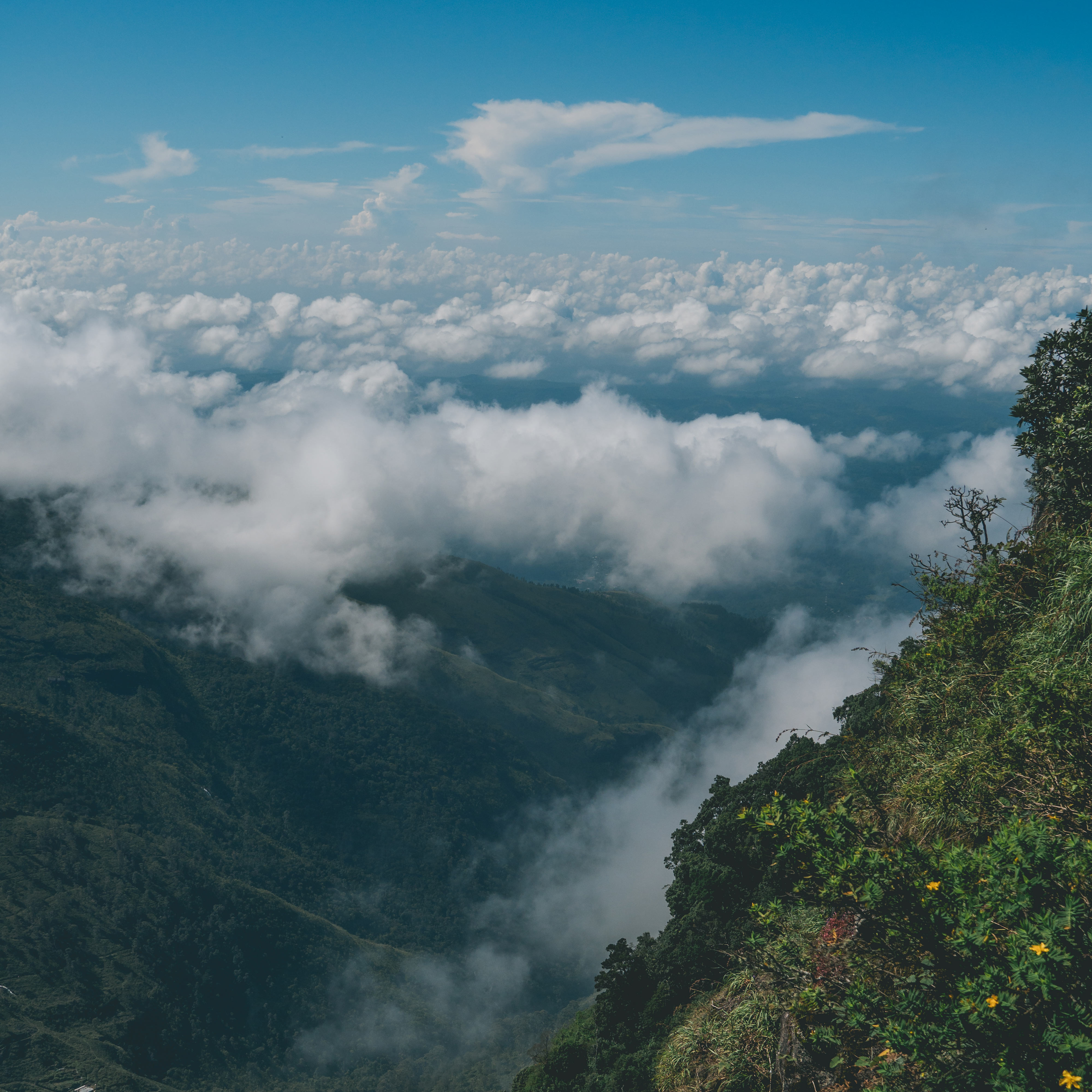 Sri Lanka, Horton Plains, World's End
