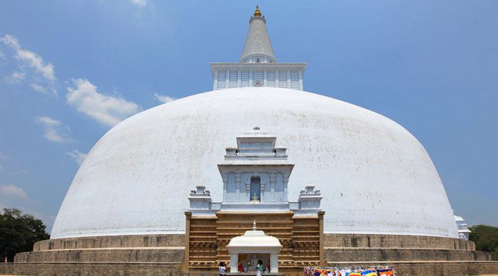 Visite du site culturel d'Anuradhapura