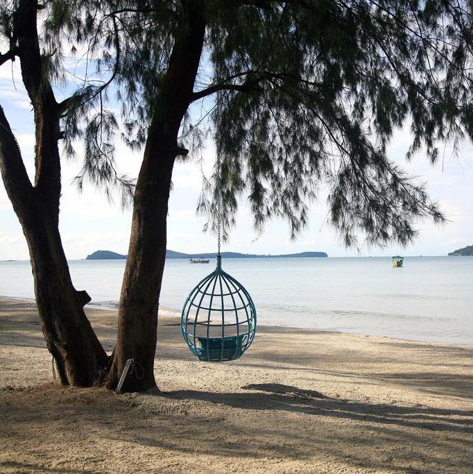 Naia Resort, Otres, Sihanoukville, Cambodge