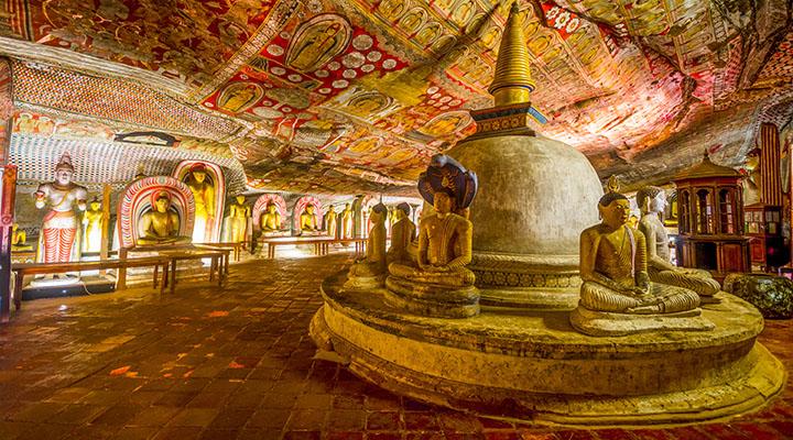 Temple d'Or de Dambulla