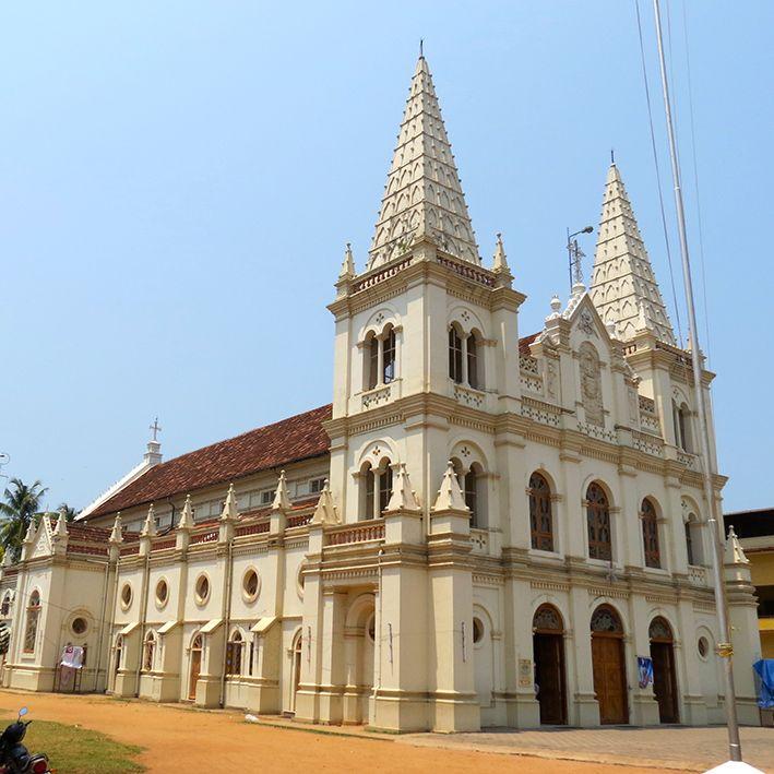 Cathedrale Santa Cruz, Cochin, Inde