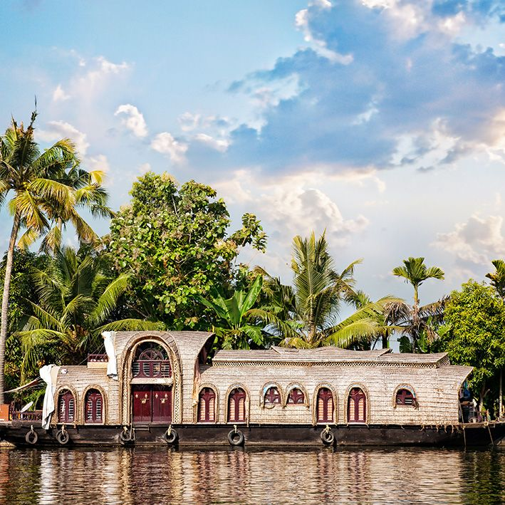 Backwaters, Kerala, Inde
