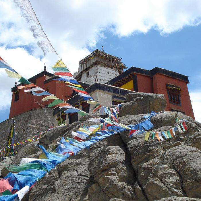 Inde, Ladakh, Monastère, Bouddhiste