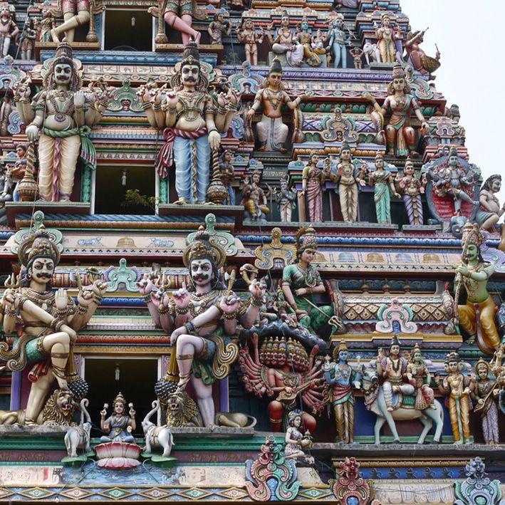 Temple Hindu, Madurai, Inde