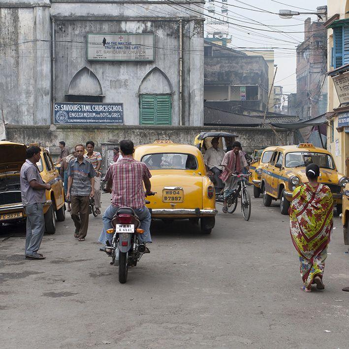 Rue, New Delhi, Inde