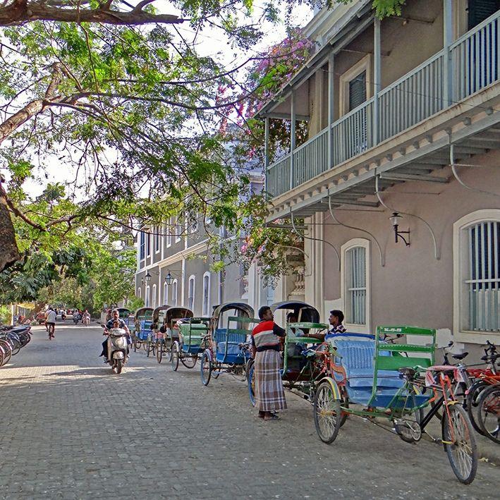 Rue Francois Martin, Pondichery