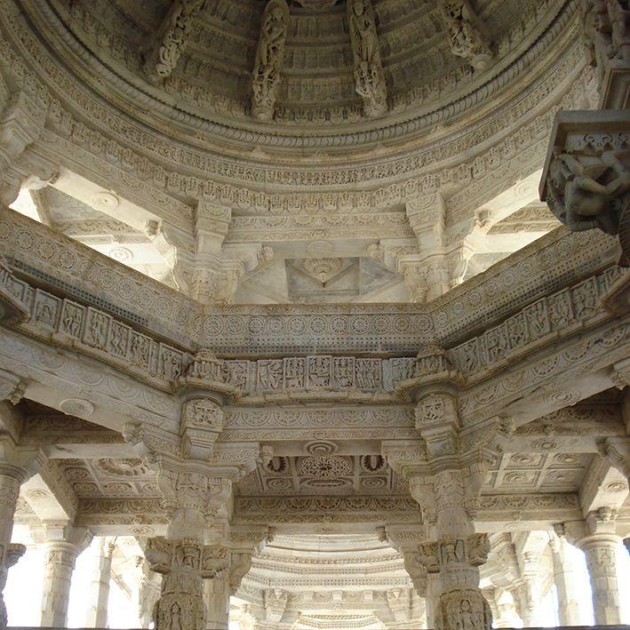 Temple Chaumukha, Ranakpur, Rajasthan