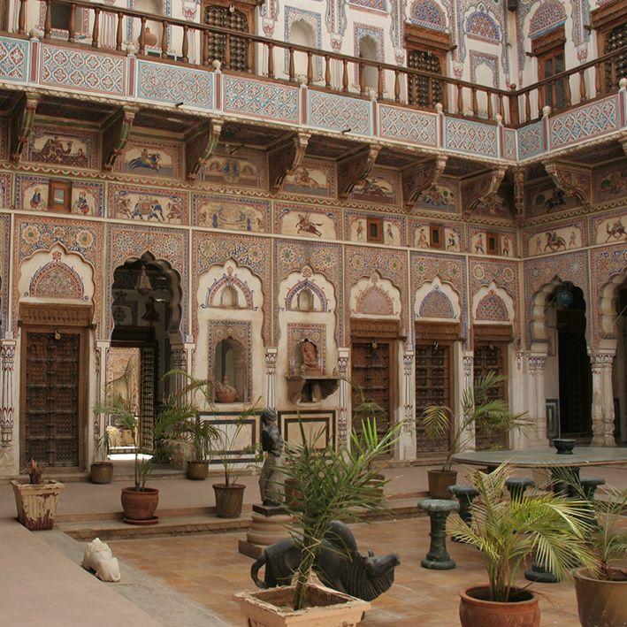 Havelis, Rajasthan, Inde