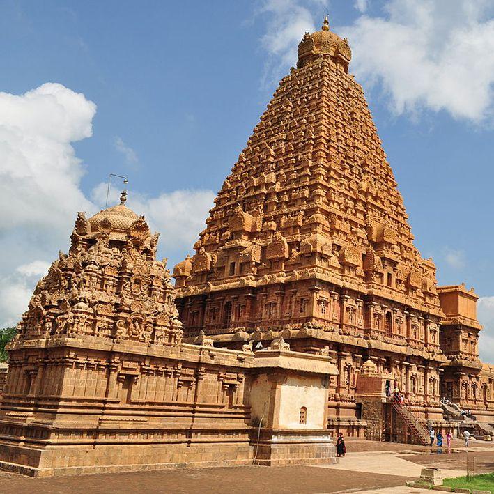 Temple de Brihadishvara, Tanjore, Inde