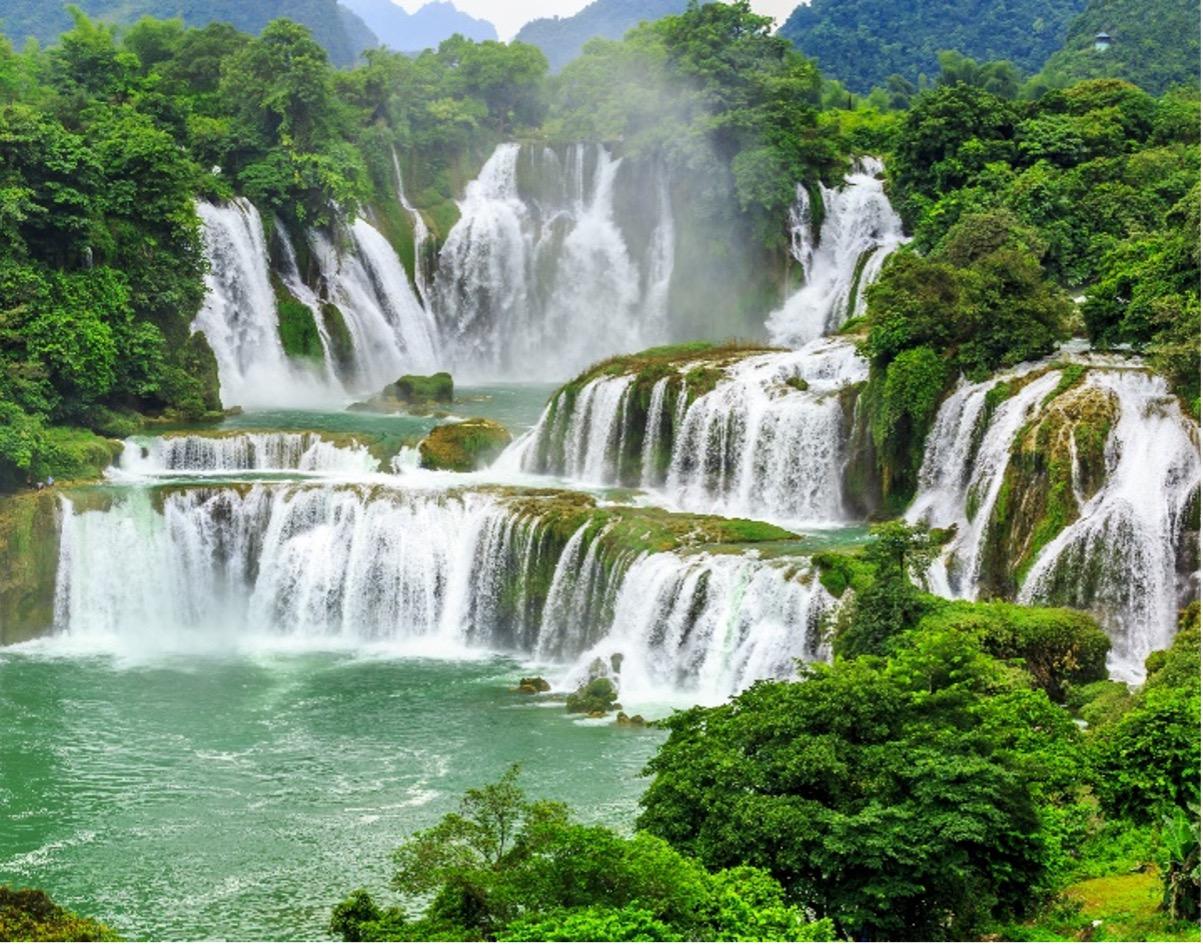 Chutes frontalières Vietnam