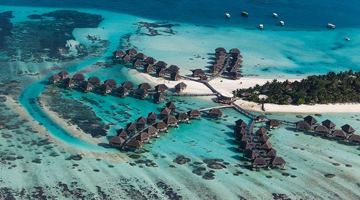 Journée libre aux Maldives