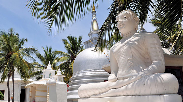 Découverte des temple sur l'ile de Nainativu