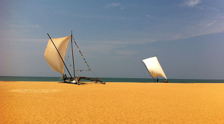 Arrivée au Sri Lanka