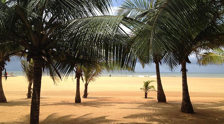 Détente sur la plage sri lanka