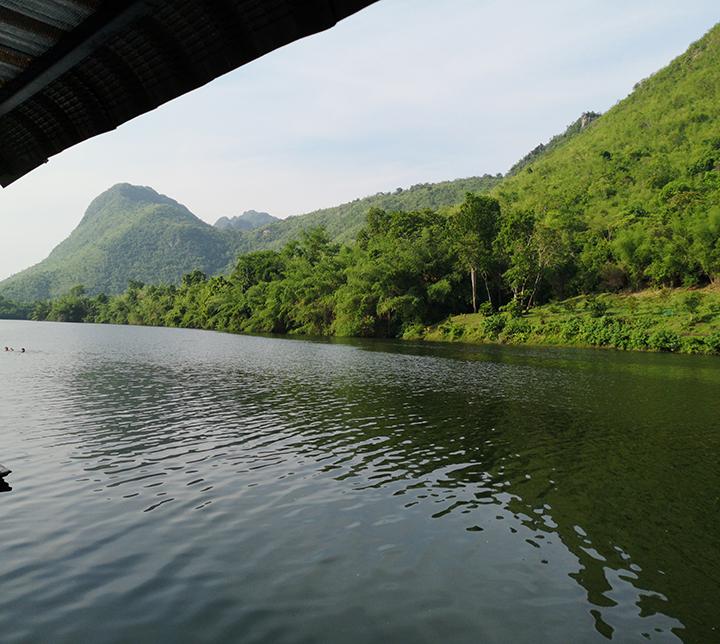 Thaïlande, Province Kanchanaburi, Pitarn Harnpanichpun