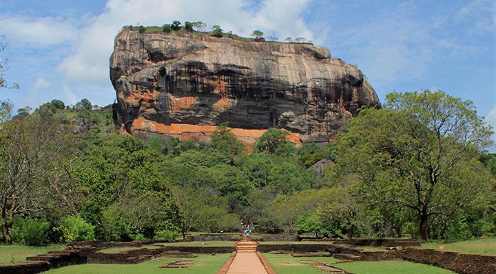 Rocher du Lion de Sigiriya