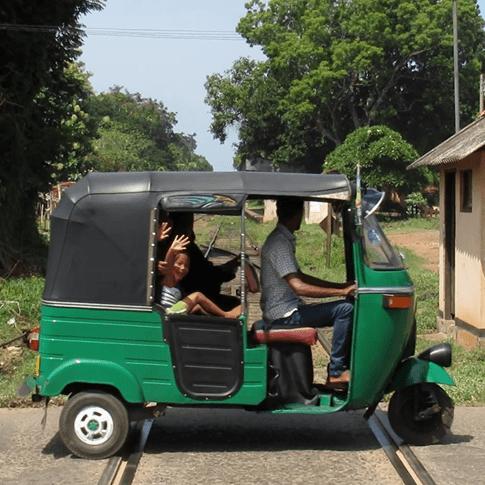 Fin des vacances, Sri Lanka