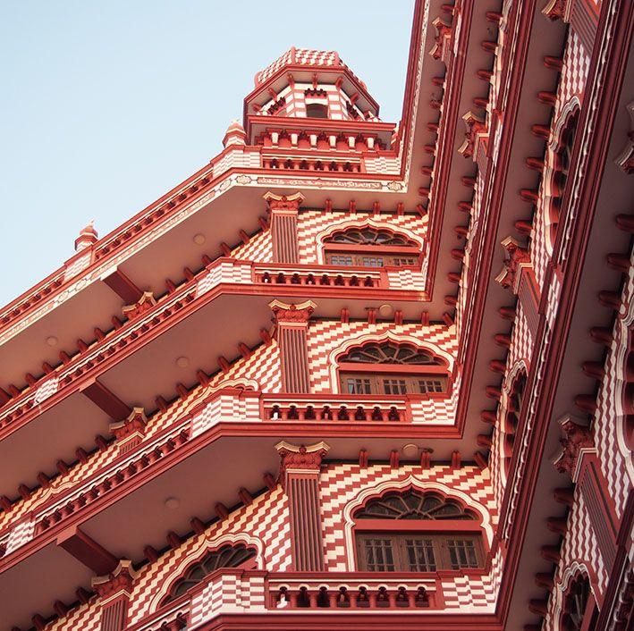 Mosquée, Pettah, Colombo, Sri Lanka