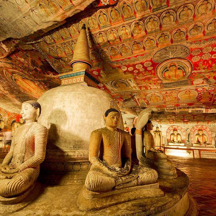 Temple d'Or, Dambulla, Sri Lanka