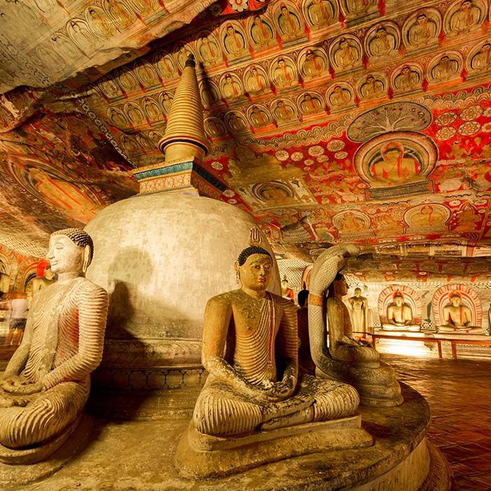Temple d'Or, Dambulla, Sri Lanka