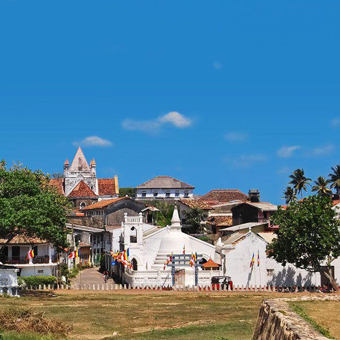 Sri Lanka, Galle, Fort, Ville