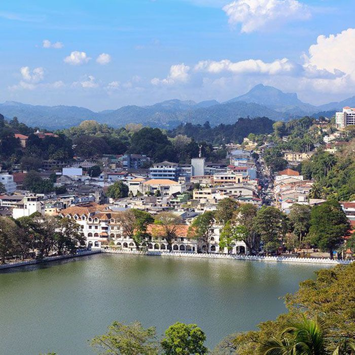 Sri Lanka, Kandy, Lac