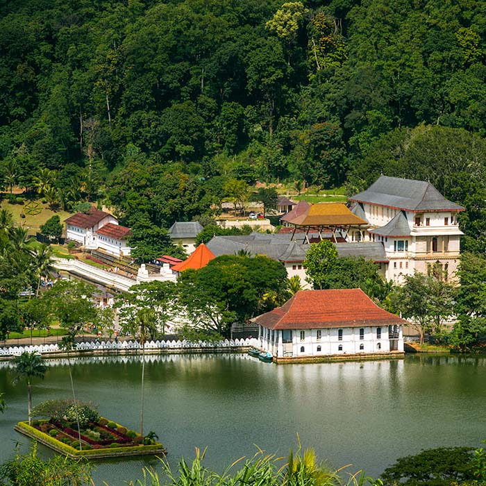 Temple de la Dent, Kandy, Sri Lanka