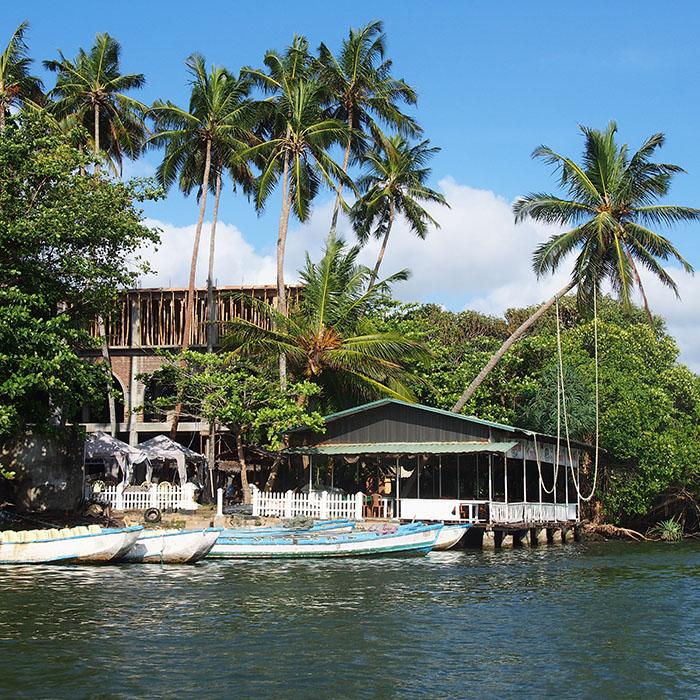 Sri Lanka, Madu Ganga, Rivière
