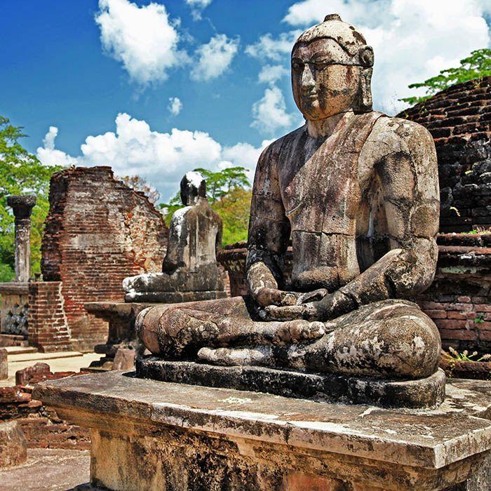 Statue de Bouddha, Polonnaruwa, Sri Lanka