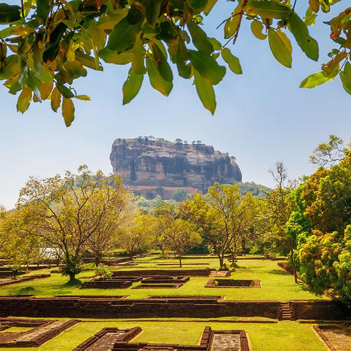 Sri Lanka, rocher Sigiriya