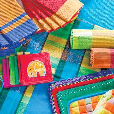 Selyn, tissage artisanal, Sri Lanka