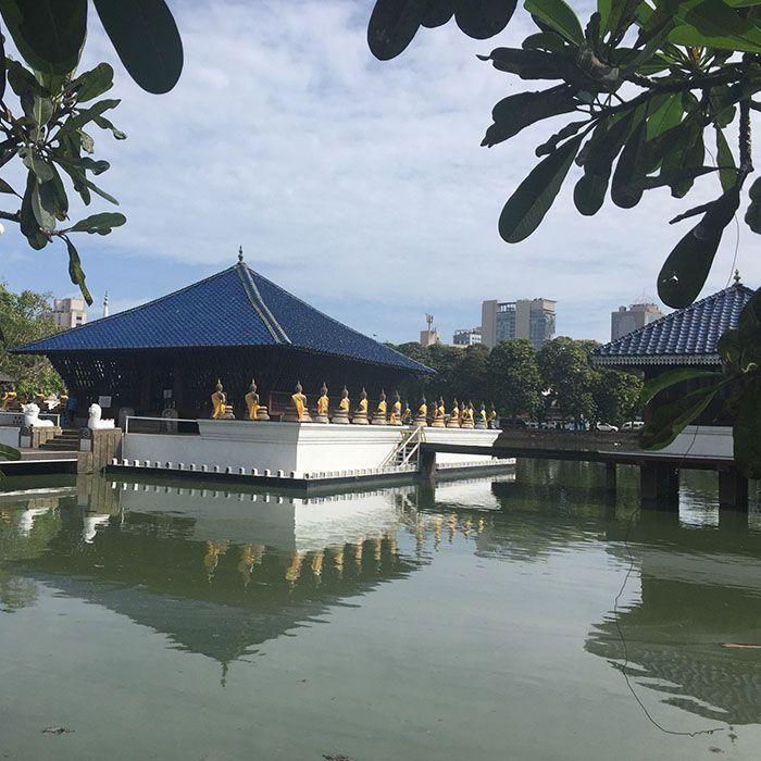 Sri Lanka, Temple, Bouddhisme